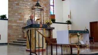 Fr. Bernie Carroll exploring spiritual practices